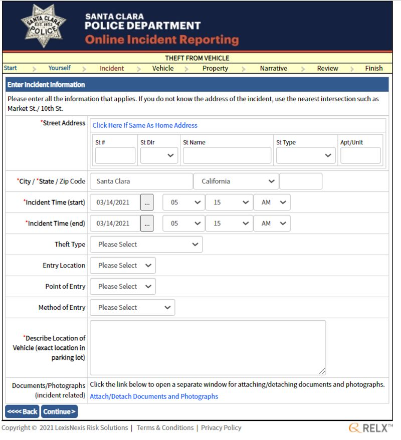 online reporting form4