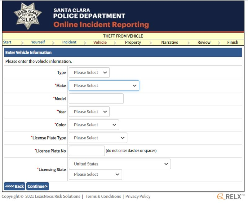 online reporting form5